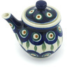 5 oz Stoneware Creamer with Lid - Polmedia Polish Pottery H0890H