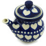 5 oz Stoneware Creamer with Lid - Polmedia Polish Pottery H1756H