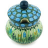 5 oz Stoneware Sugar Bowl - Polmedia Polish Pottery H4918G