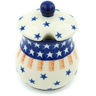 5 oz Stoneware Sugar Bowl - Polmedia Polish Pottery H6525H