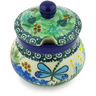 5 oz Stoneware Sugar Bowl - Polmedia Polish Pottery H6804G
