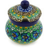5 oz Stoneware Sugar Bowl - Polmedia Polish Pottery H6981G