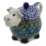 5 oz Stoneware Sugar Bowl - Polmedia Polish Pottery H7513K