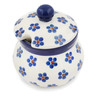 5 oz Stoneware Sugar Bowl - Polmedia Polish Pottery H8552K