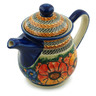 50 oz Stoneware Pitcher with Lid - Polmedia Polish Pottery H6145I
