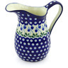51 oz Stoneware Pitcher - Polmedia Polish Pottery H0586G