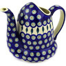 51 oz Stoneware Pitcher - Polmedia Polish Pottery H2576E