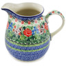 51 oz Stoneware Pitcher - Polmedia Polish Pottery H2833L