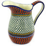 51 oz Stoneware Pitcher - Polmedia Polish Pottery H3874E