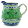 51 oz Stoneware Pitcher - Polmedia Polish Pottery H7937I