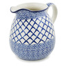 51 oz Stoneware Pitcher - Polmedia Polish Pottery H8434K