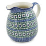 51 oz Stoneware Pitcher - Polmedia Polish Pottery H8516K