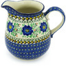 51 oz Stoneware Pitcher - Polmedia Polish Pottery H8603G
