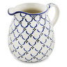 51 oz Stoneware Pitcher - Polmedia Polish Pottery H8860K