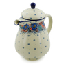 52 oz Stoneware Pitcher with Lid - Polmedia Polish Pottery H7987J