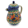 52 oz Stoneware Pitcher with Lid - Polmedia Polish Pottery H8002J