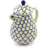 52 oz Stoneware Pitcher with Lid - Polmedia Polish Pottery H8627F