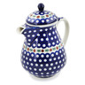 52 oz Stoneware Pitcher with Lid - Polmedia Polish Pottery H9299A