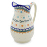 54 oz Stoneware Pitcher - Polmedia Polish Pottery H0389K