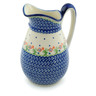 54 oz Stoneware Pitcher - Polmedia Polish Pottery H0575I
