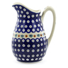 54 oz Stoneware Pitcher - Polmedia Polish Pottery H4277J