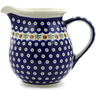 57 oz Stoneware Pitcher - Polmedia Polish Pottery H0766D