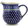 57 oz Stoneware Pitcher - Polmedia Polish Pottery H9749C