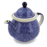 57 oz Stoneware Tea or Coffee Pot - Polmedia Polish Pottery H7538C