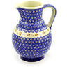 59 oz Stoneware Pitcher - Polmedia Polish Pottery H7322D