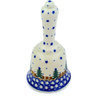 6-inch Stoneware Bell Figurine - Polmedia Polish Pottery H2050D