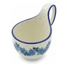 6-inch Stoneware Bowl with Handles - Polmedia Polish Pottery H0505J