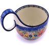 6-inch Stoneware Bowl with Handles - Polmedia Polish Pottery H0554G
