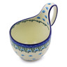 6-inch Stoneware Bowl with Handles - Polmedia Polish Pottery H0849I