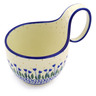 6-inch Stoneware Bowl with Handles - Polmedia Polish Pottery H1908F