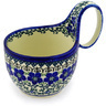 6-inch Stoneware Bowl with Handles - Polmedia Polish Pottery H2044D