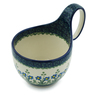 6-inch Stoneware Bowl with Handles - Polmedia Polish Pottery H2046D