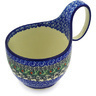 6-inch Stoneware Bowl with Handles - Polmedia Polish Pottery H2462E
