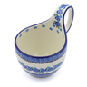 6-inch Stoneware Bowl with Handles - Polmedia Polish Pottery H2462J