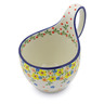 6-inch Stoneware Bowl with Handles - Polmedia Polish Pottery H2502J