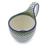 6-inch Stoneware Bowl with Handles - Polmedia Polish Pottery H2610I