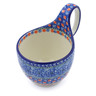 6-inch Stoneware Bowl with Handles - Polmedia Polish Pottery H3905I