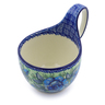6-inch Stoneware Bowl with Handles - Polmedia Polish Pottery H3921I