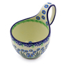 6-inch Stoneware Bowl with Handles - Polmedia Polish Pottery H3923I