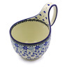 6-inch Stoneware Bowl with Handles - Polmedia Polish Pottery H3932I