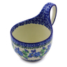 6-inch Stoneware Bowl with Handles - Polmedia Polish Pottery H3933I
