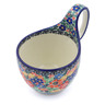 6-inch Stoneware Bowl with Handles - Polmedia Polish Pottery H3935I