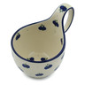 6-inch Stoneware Bowl with Handles - Polmedia Polish Pottery H4121I