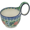 6-inch Stoneware Bowl with Handles - Polmedia Polish Pottery H4123E