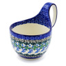 6-inch Stoneware Bowl with Handles - Polmedia Polish Pottery H4421F