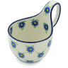 6-inch Stoneware Bowl with Handles - Polmedia Polish Pottery H5401H